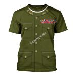 Gearhomies Unisex T-Shirt Peyton C. March 3D Apparel
