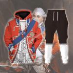 Gearhomies Unisex Tracksuit Hoodies Pullover Sweatshirt Stanislaw August Poniatowski (King of Poland)  Historical 3D Apparel