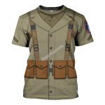 Gearhomies Unisex T-Shirt 442nd Infantry Regiment 3D Apparel