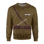 Gearhomies Unisex Sweatshirt WWI British Royal Flying Corps 3D Apparel