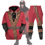 Gearhomies Tracksuit Hoodies Pullover Sweatshirt Vlad the Impaler Historical 3D Apparel
