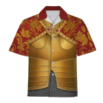 Gearhomies Unisex Hawaiian Shirt Holy Roman Emperor Historical 3D Apparel