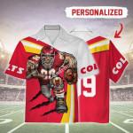 Gearhomies Personalized Unisex Hawaiian Shirt Kansas City Chiefs Football Team 3D Apparel