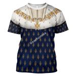 Gearhomies Unisex T-Shirt Louis XIV of France 3D Apparel