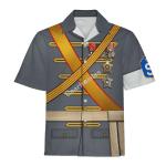 Gearhomies Unisex Hawaiian Shirt Carl Gustaf Emil Mannerheim Historical 3D Apparel