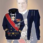 Gearhomies Tracksuit Hoodies Pullover Sweatshirt Miklos Horthy Historical 3D Apparel
