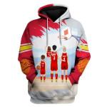 Gearhomies Personalized 3D Hoodie Atlanta Hawks Family Apparel - Basketball Team