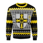 Merry Christmas Gearhomies Unisex Christmas Sweater Grand Master Of The Teutonic Order 3D Apparel