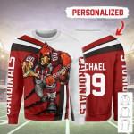 Gearhomies Personalized Unisex Sweatshirt Arizona Cardinals Football Team 3D Apparel