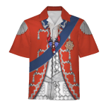 Gearhomies Unisex Hawaiian Shirt Stanislaw August Poniatowski (King of Poland) Historical 3D Apparel