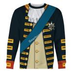 Gearhomies Unisex Sweatshirt William V, Prince of Orange 3D Apparel