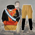 Gearhomies Tracksuit Hoodies Pullover Sweatshirt Ferdinand VII Of Spain Historical 3D Apparel
