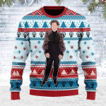 Merry Christmas Gearhomies Unisex Ugly Christmas Sweater Harry In Dress 3D Apparel