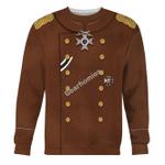 Gearhomies Unisex Sweatshirt Erich von Falkenhayn 3D Apparel