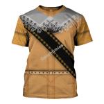 Gearhomies Unisex T-Shirt Gustavus Adolphus of Sweden 3D Apparel