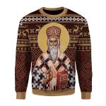 Gearhomies Unisex Sweatshirt St. Vasilije of Ostrog 3D Apparel