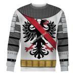 Gearhomies Unisex Sweatshirt Bertrand du Guesclin The Eagle of Brittany 3D Apparel