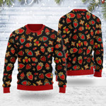 Merry Christmas Gearhomies Unisex Ugly Christmas Sweater Scared Heart 3D Apparel
