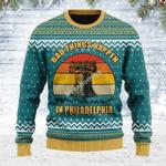 Merry Christmas Gearhomies Unisex Ugly Christmas Sweater Bad Things Happen In Philadelphia 3D Apparel