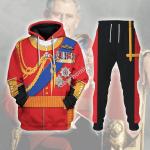 Gearhomies Tracksuit Hoodies Pullover Sweatshirt Prince Charles Prince of Wales Historical 3D Apparel