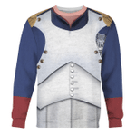 Gearhomies Unisex Sweatshirt Napoleon Bonaparte I 3D Apparel
