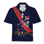 Gearhomies Unisex Hawaiian Shirt Miklos Horthy Historical 3D Apparel
