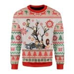 Merry Christmas Gearhomies Unisex Christmas Sweater Supernatural 3D Apparel