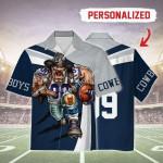 Gearhomies Personalized Unisex Hawaiian Shirt Dallas Cowboys Football Team 3D Apparel