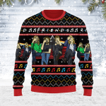 Merry Christmas Gearhomies Unisex Ugly Christmas Sweater Friends Christmas 3D Apparel