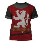Gearhomies Unisex T-Shirt William Wallace 3D Apparel