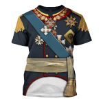 Gearhomies Unisex T-Shirt  General Prince Pyotr Bagration 3D Apparel