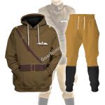 Gearhomies Tracksuit Hoodies Pullover Sweatshirt WWI British Royal Flying Corps  Historical 3D Apparel