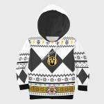Gearhomies 3D Kid Tops Pullover Sweatshirt White Power Rangers