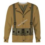 Gearhomies Unisex Sweatshirt US Army WW1 Infantryman 3D Apparel