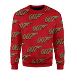 Merry Christmas Gearhomies Unisex Christmas Sweater 007 Detective