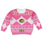 Gearhomies Kid Sweatshirt Pink Power Rangers 3D Apparel