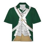 Gearhomies Unisex Hawaiian Shirt Pirates - Continental Marine 1775 Historical 3D Apparel