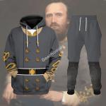 Gearhomies Tracksuit Hoodies Pullover Sweatshirt Thomas Stonewall Jackson Historical 3D Apparel