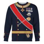 Gearhomies Unisex Sweatshirt Harald V of Norway 3D Apparel