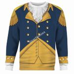 Gearhomies Unisex Sweatshirt General George Washington 3D Apparel