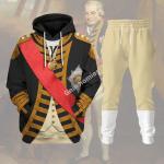 Gearhomies Tracksuit Hoodies Pullover Sweatshirt John Jervis 1st Earl of St Vincent Historical 3D Apparel