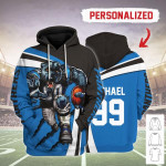 Gearhomies Personalized Unisex Tracksuit Hoodies Carolina Panthers Football Team 3D Apparel