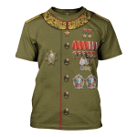 Gearhomies Unisex T-Shirt Joseph Stalin 3D Apparel