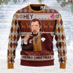 Merry Christmas Gearhomies Unisex Ugly Christmas Sweater Hey ... Merry Christmas Custom Name 3D Apparel