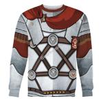 Gearhomies Unisex Sweatshirt Roman Centurion 3D Apparel