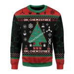 Merry Christmas Gearhomies Unisex Christmas Sweater Oh Chemis Tree 3D Apparel