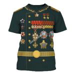 Gearhomies Unisex T-Shirt Ivan Stepanovich Koniev 3D Apparel