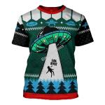 Gearhomies Unisex T-shirt LOL Bye 3D Apparel