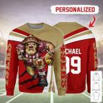 Gearhomies Personalized UnisexSweatshirt San Francisco 49ers Football Team 3D Apparel