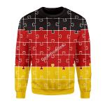 Merry Christmas Gearhomies Unisex Christmas Sweater German Autism